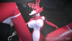 FNAF Foxy Girl Getting the D