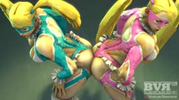 R.Mika Butt Grinding Mirror Match