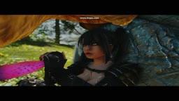 Skyrim Dragon-Whore like Sabre Cat