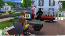 The Sims 4 Sex Mods Cam Sex it's My Roommate Brian S Amore