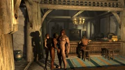 Skyrim threesome
