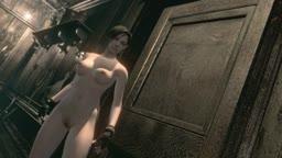 Resident Evil HD Remaster Nude Jill Walkthrough Part 3