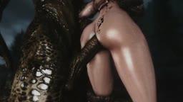 Skyrim Dragon-Whore Compilation