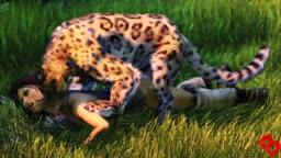 Lara Vs Jaguar