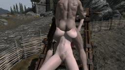 skyrim torturerack sex