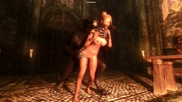 Test upload Skyrim werewolf