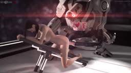 Miranda Lawson Fucking Her Robot - W/Robot Voice - With Sound
