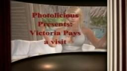 Victoria pays a visit