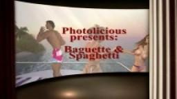 Baguette and spaghetti