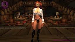 Sexy Blood Elf Strip-Tease
