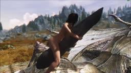 Skyrim - Frisky Dragon