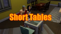 Sims 4 - Doggy Rough - TABLE