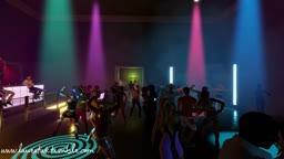3DXChat Night Club