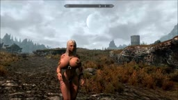 Skyrim Nude Mod - Xena and the Giant