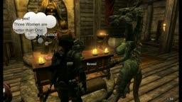 Skyrim 3 headed Dragon Wife Beta