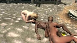 The Elder Scrolls V Skyrim sexo em 3