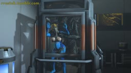 Samus Trapped with Aliens full