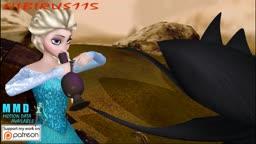 Elsa's tentacle flower