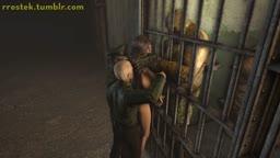 Lara Croft in Prison Full angle2