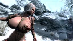 Skyrim Nude Mod - Xena and Vampires