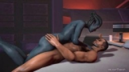 Samara's Sex Adventure (With Commander Shepard)