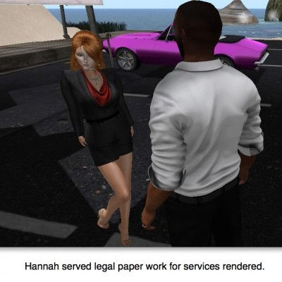 Hannah ordered by the court to render services