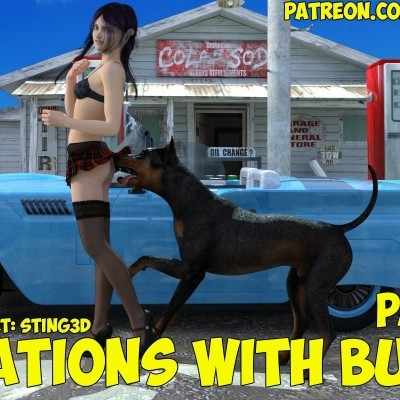 Sting3D - Vacations with Buddy part 3