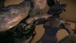 Orgy Elite and females Argonians (Scene 058)