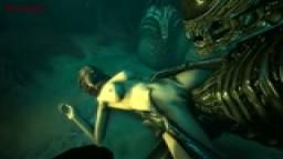 Femshep raped by Xenomorph