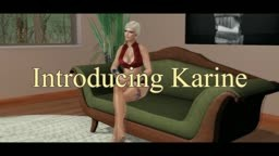 Introducing Karinmarine to Second Life Porno