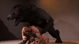 Chris Redfield Defeated by a Werewolf