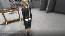 blonde forced to dance and stripped by boss part 1