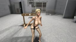 blonde forced to dance and stripped by boss part 3