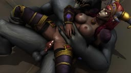 World of Warcraft - Alexstrasza x Worgen (PrimerManips)