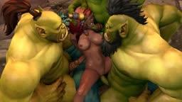 World of Warcraft - Alexstrasza x Orc (PrimerManips)