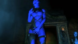 Mass Effect Asari dance twerk