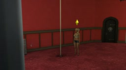 Sims4 Pole Dancing