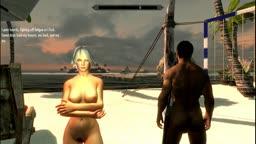 cristie on doa sluts island