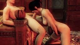 Sex with Morrigan