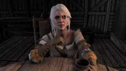 Threesome in the tabern with Ciri!