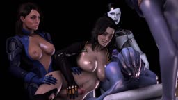 Another Mass Effect orgy