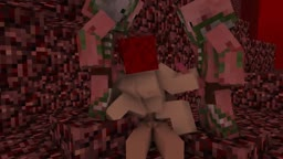 Minecraft Orgy in the Nether