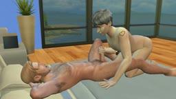 Sims 4 Bjorn fucks B