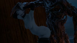 Rebecca Chambers Fucked by Molded (Loop)