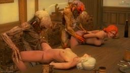 Ciri & Triss get monstered