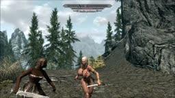 Skyrim Nude Mod - Xena and Bandits