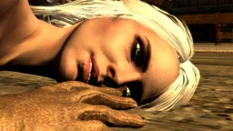 Ciri raped by the Dragonborn - Part 2