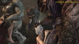 Dead or Alive 5 Monster Orgy angle2