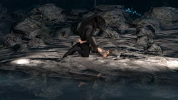 Lara and the werewolf