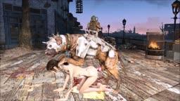 Fallout 4 Elie Pillar dog